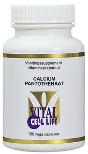 Vitamine B5 Calciumpantothenaat 200mg