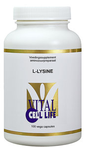 L-Lysine HCL 400 mg (vernieuwde samenstelling)