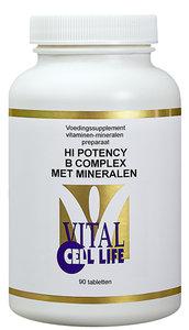 High potency B-complex met mineralen