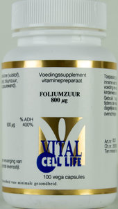 Foliumzuur 800 mcg