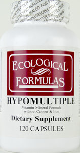 Hypomultiple - Vitamin/Mineral Formula Without Copper/Iron