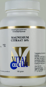 Magnesium citraat poeder 160 mg