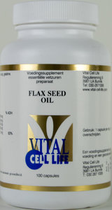 Flax Seed Oil - Zuivere Lijnzaadolie 1000 mg