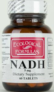 NADH 5mg (nu tijdelijk 120 tabletten)