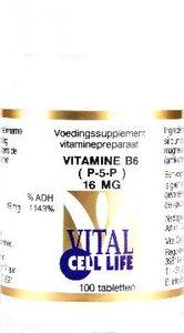Actieve B6 Pyridoxaal-5-Fosfaat 16 mg